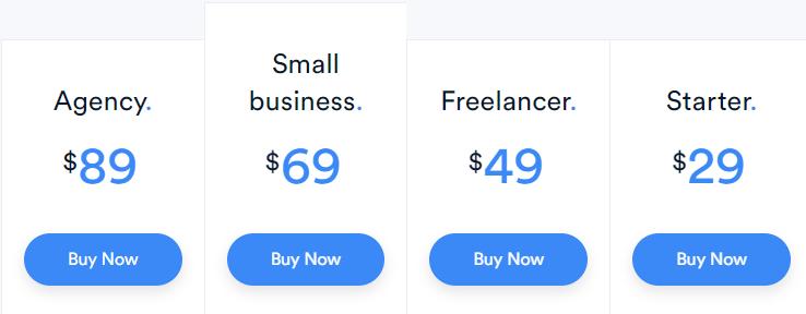 kali forms pricing plans