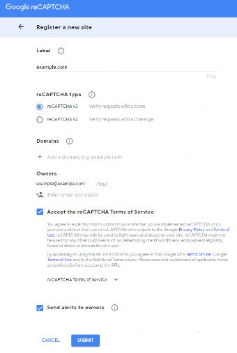 register google site