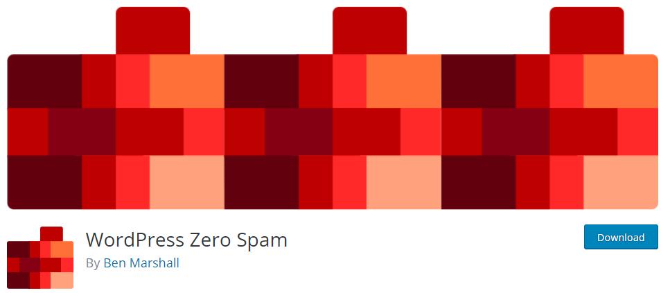 wordpress zero spam plugin