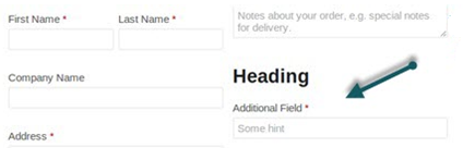 additional fields appear