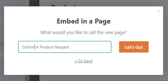 fill in page name