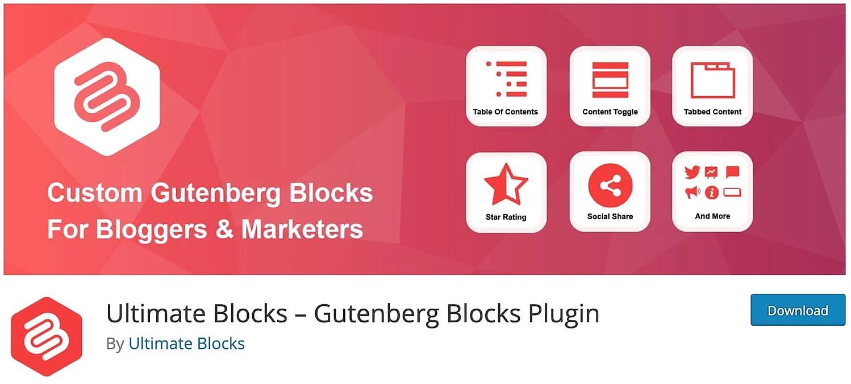 Ultimate Block interface