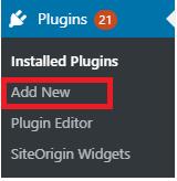 add a new WordPress plugin