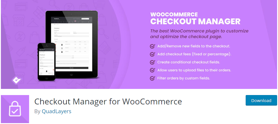 Checkout Manager for WooCommerce