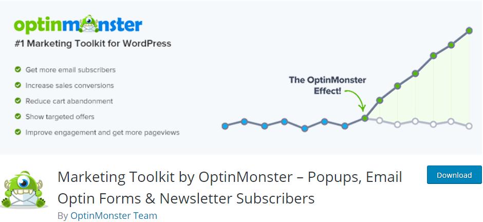 OptinMonster-#1 WordPress lead generation plugin