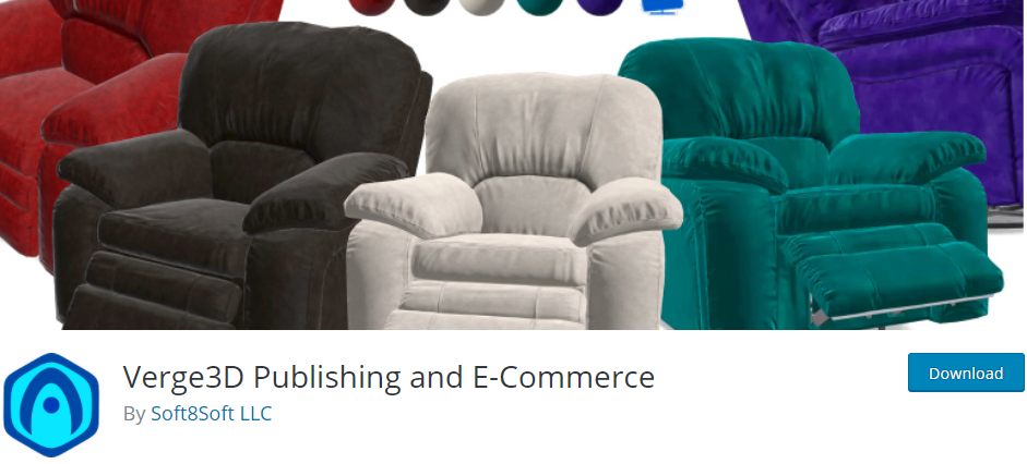 Verge3D Publishing and Ecommerce
