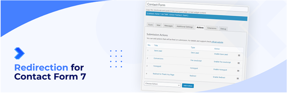 Redirect For Contact Form 7