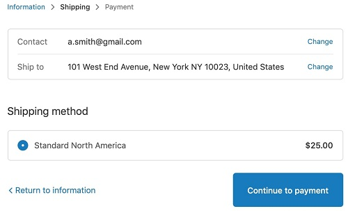 Shopify's data preview option