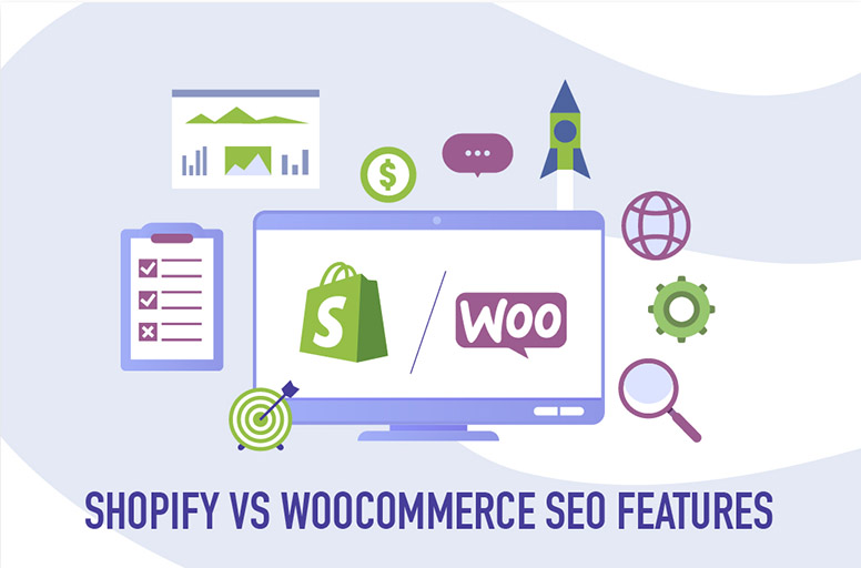 Shopify vs WooCommerce SEO features