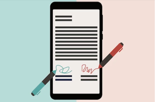 use electronic signatures for business contracts