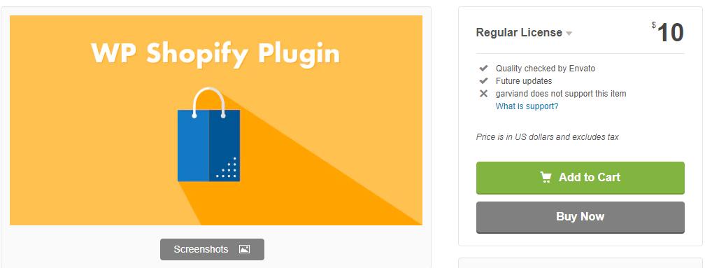 Shopify WordPress plugin - WP Shopify