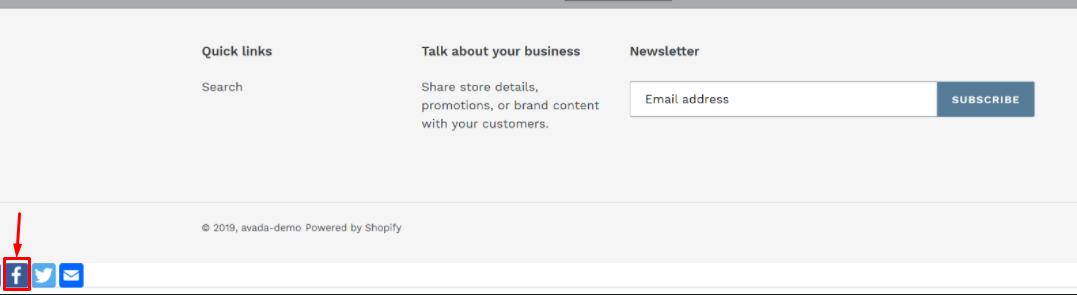 add social media to Shopify