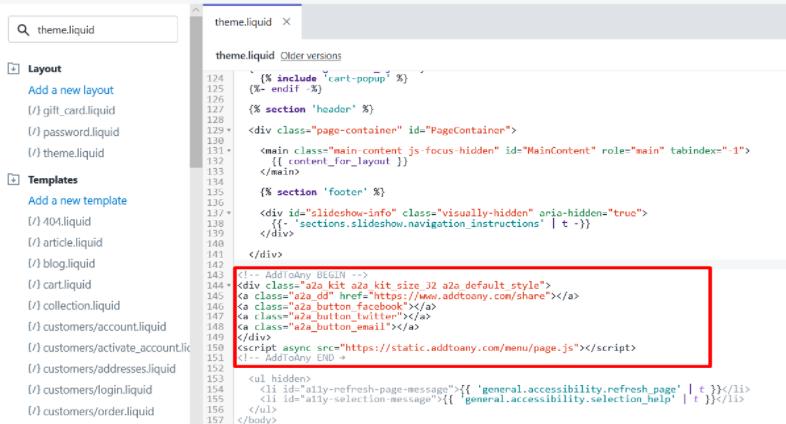 paste code editor
