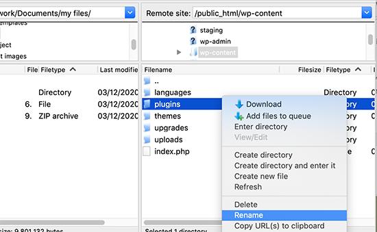 rename plugin folder
