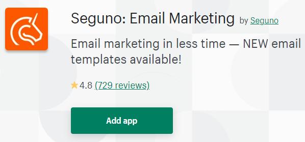 Seguno: Email Marketing app App