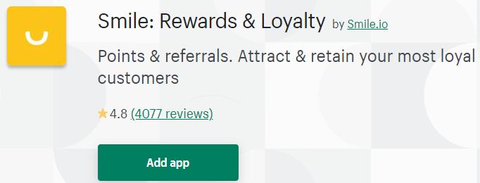 smile reward loyalty