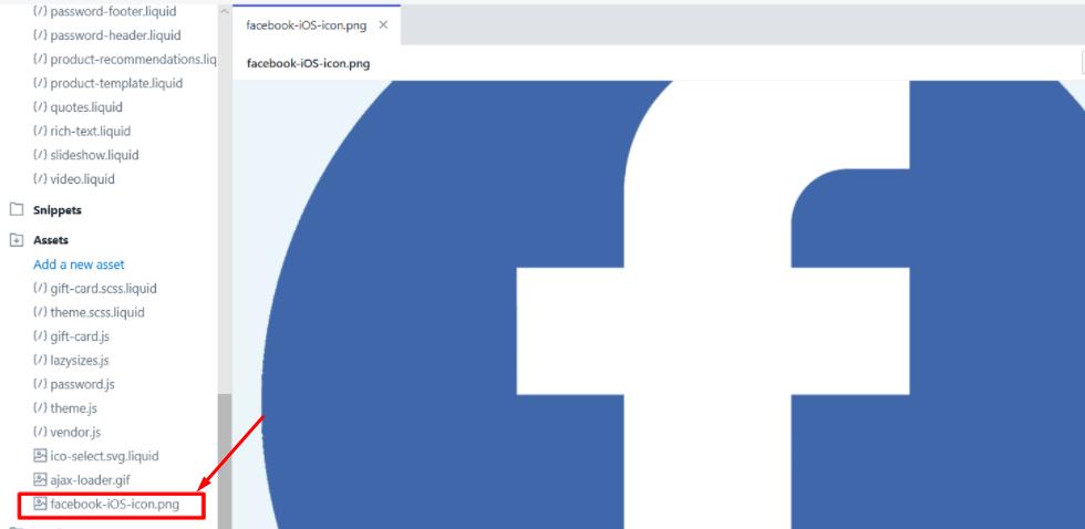 upload Facebook icon